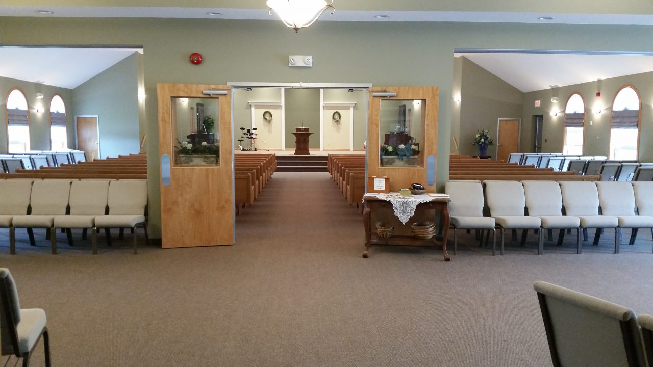 Foyer/Sanctuary